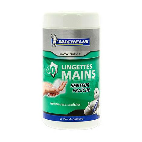40 lingettes mains - boîte H. 165 x D. 80 mm - Michelin