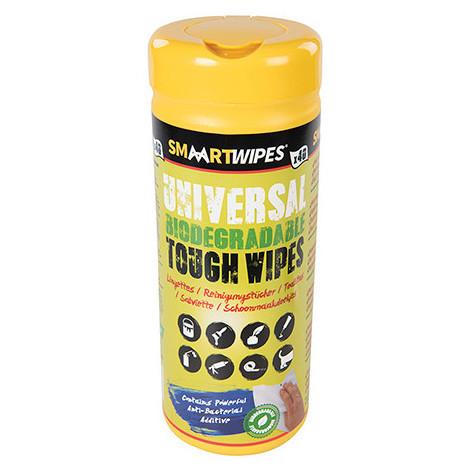 40 lingettes universelles ultrarésistantes biodégradables - 922518 - Smaart