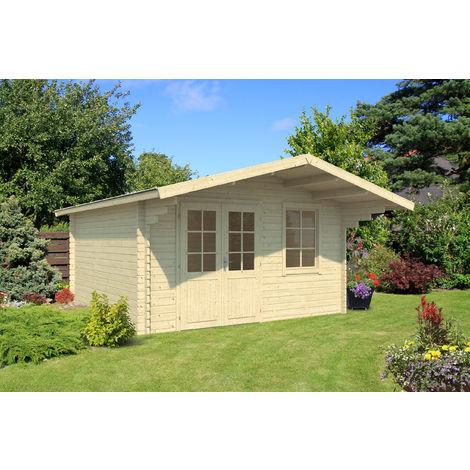 40 mm Gartenhaus Lissabon 2 ca. 410x410 cm
