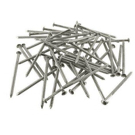 400 Pointes crantées inox SIMPSON STRONG-TIE pour fixation bardages D 2,5 x 60 mm NEUVES
