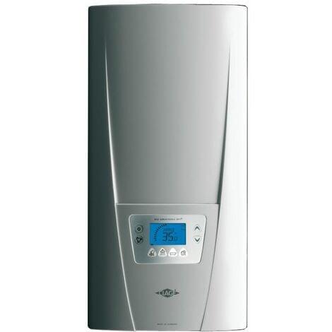 400 V 3 phases chaudière à eau chaude de chauffe-eau électrique instantané dynamique de l'affichage couleur 18-27kw avec panneau de contrôle sans fil