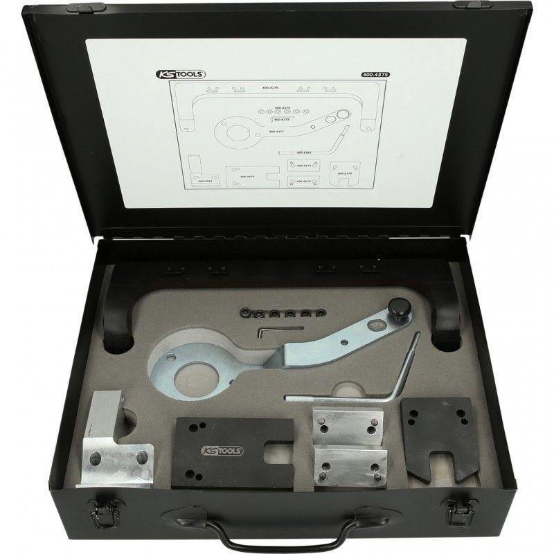 400.4375. Jeu d'outils de calage moteur BMW-Mini Essence 1.2, 1.5, 2.0, 3,0, 17 pcs 496.51