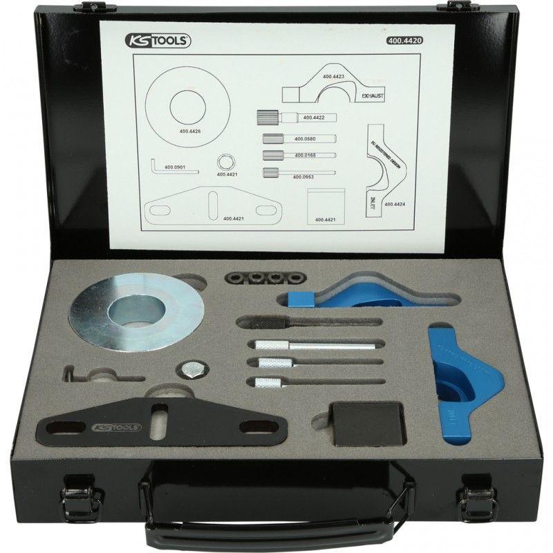400.4420. Jeu d'outils de calage moteur Ford Essence 1.0 TDi 9 pcs 364.94