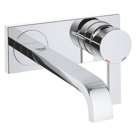 """4005176876011 GROHE-Allure Monomando de lavabo mural 1/2"""" Tamaño M, empotrable solo parte exterior, caño 220 mm - 19386000"""