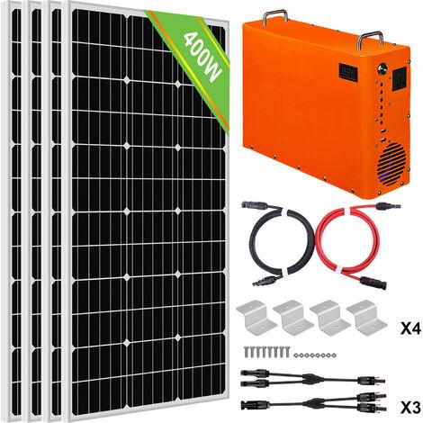 400W Sistema completo de paneles solares 1 kW Generador de maleta portátil 1 kW · h Batería LiFePO4