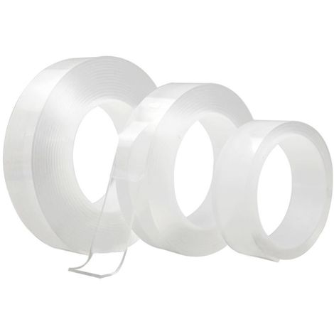 401213 Cinta adhesiva 3m GRIP TAPE de alta adherencia Reutilizable Lavable