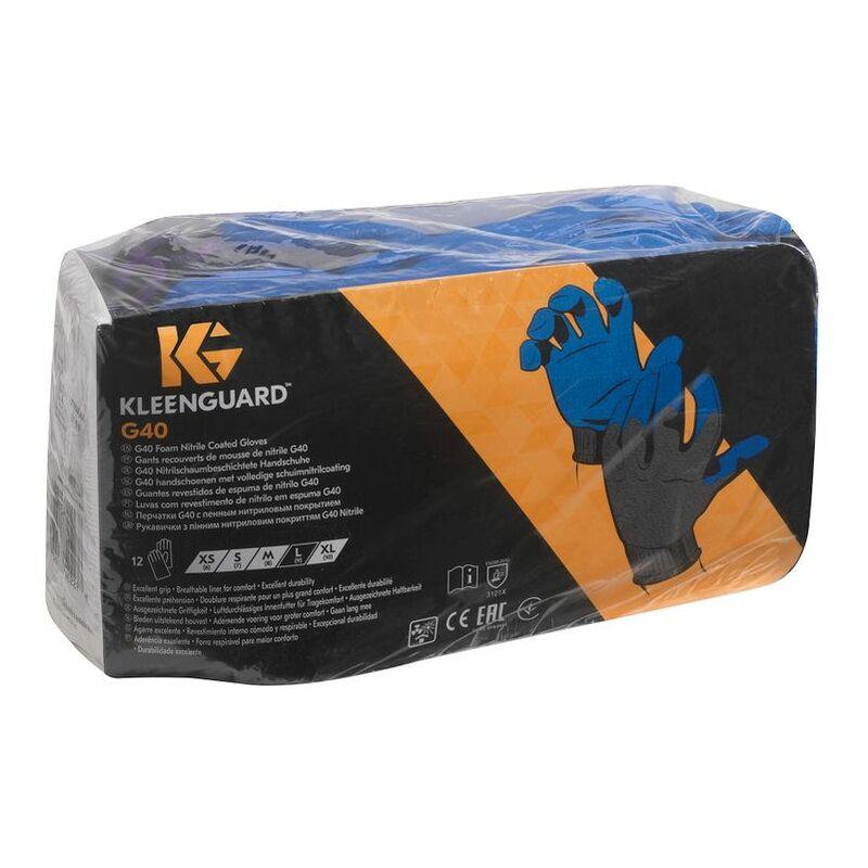 Image of Jackson Safety 40229 G40 Nitrile Blue Gloves S.11- you get 60