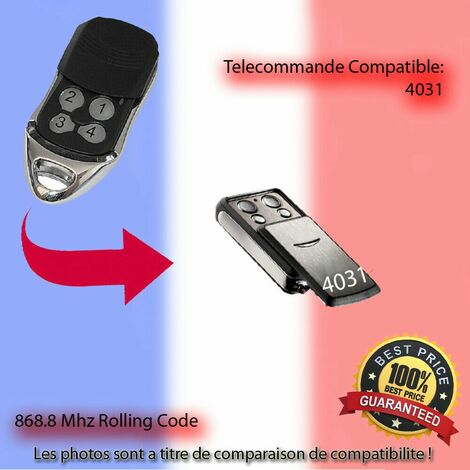 4031 compatible Emetteur Replacement la telecommande-SOMMER