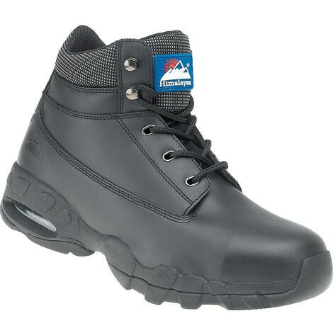 4040 Black Safety Boots With EVA/Rubber Soles