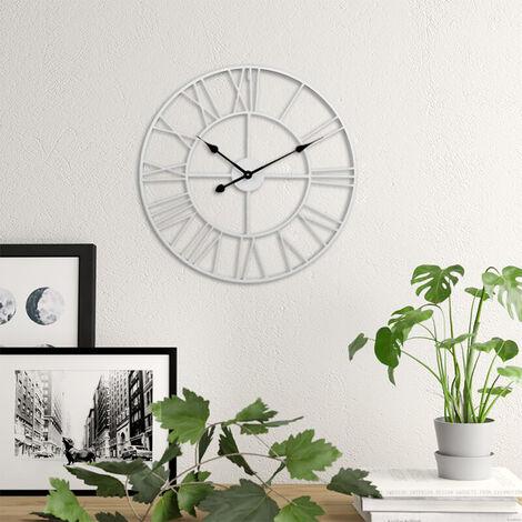 40cm Roman Numerals Metal Skeleton Wall Clock