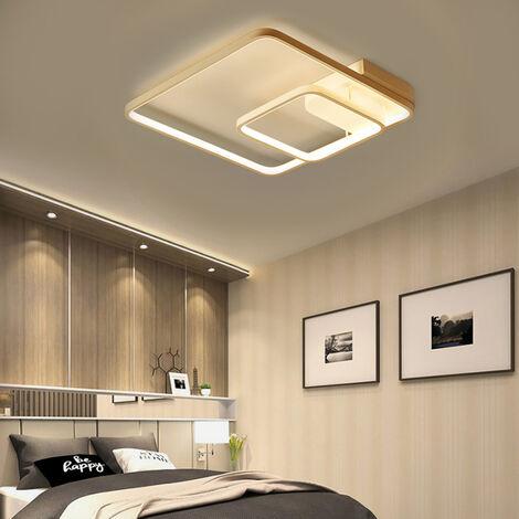 40CM Square LED Chandelier Ceiling Light , Cool White