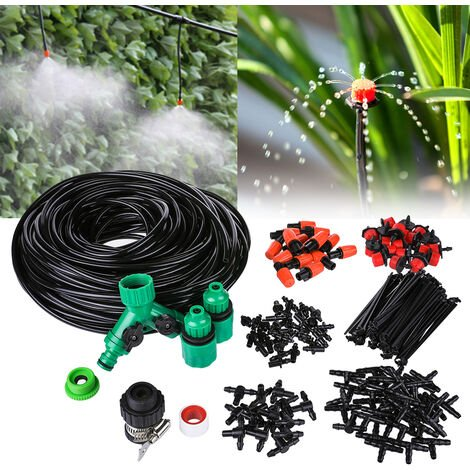 """main image of """"40M Automatic Micro Drip Irrigation System Kit Patio Plant Watering Garden Mist"""""""