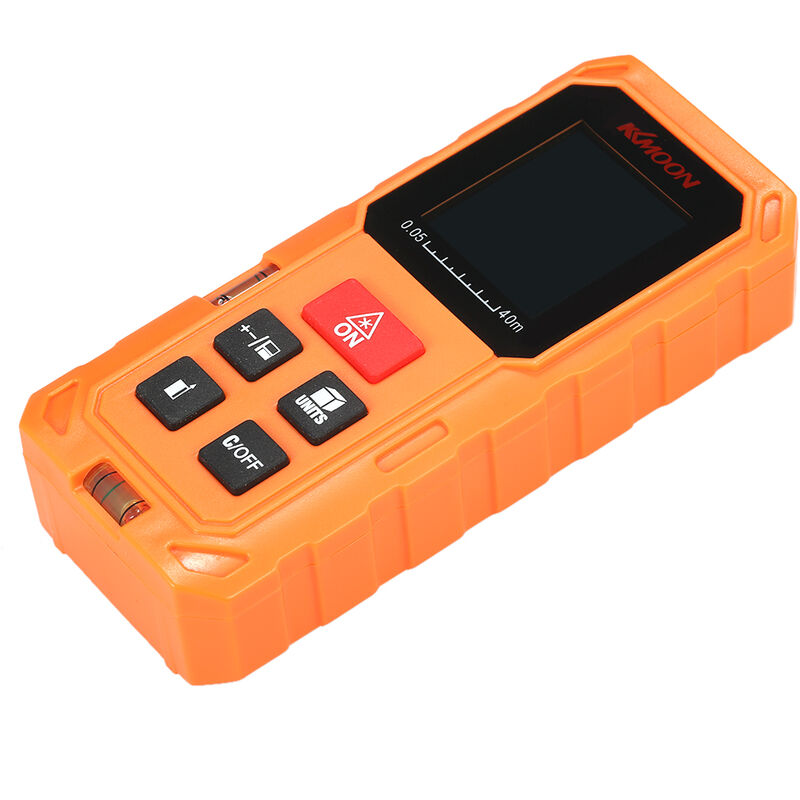 Image of 40m S40 handheld mini rangefinder digital laser rangefinder orange