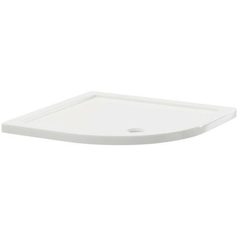 40mm Pearlstone 800 x 800 Quadrant Shower Tray