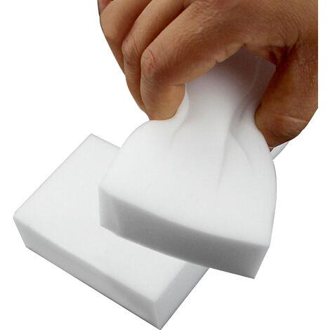 40pcs / Set, esponjas de limpieza, Extra Grande esponja del borrador, blanca