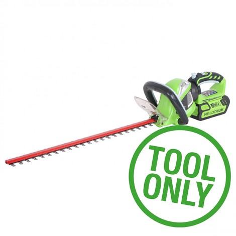 "main image of ""40V Greenworks Hedge Trimmer (Tool only)"""
