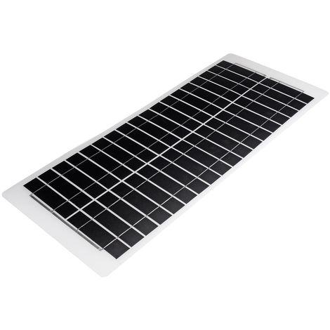 40W 18V Panel solar Cargador de batería de silicio monocristalino Barco Hasaki