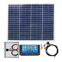 40w Poly-Crystalline Solar Panel PV Photo-voltaic and charging kit