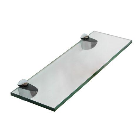 40x10CM Glass shelf holder Wall shelf Bathroom shelf Bathroom shelf