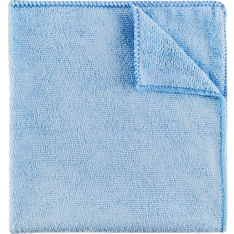 Image of 40X40CM Economy Blue Microfibre Cloth 36G- you get 5 - Cotswold
