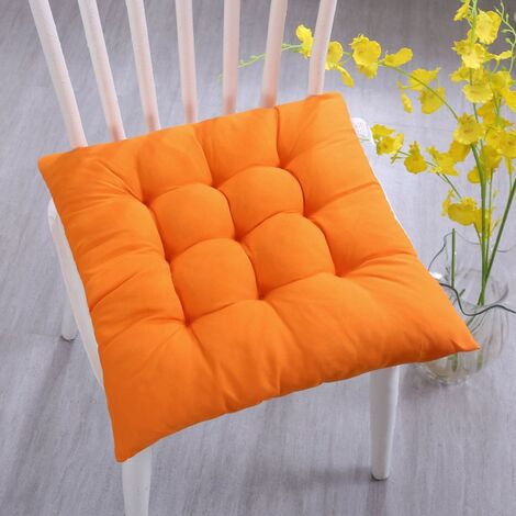 """main image of """"40x40x3cm seat cushion with fastening strap, suitable for inside and outside"""""""