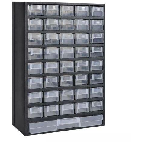 41-Drawer Plastic Storage Cabinet Tool Box VD03502