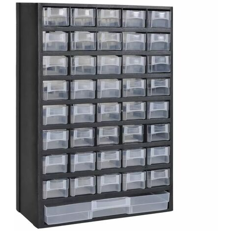 41-Drawer Plastic Storage Cabinet Tool Box VDTD03502