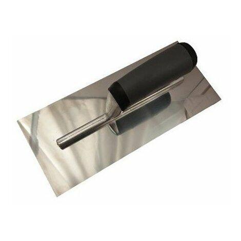 4190000 platoir à lisser mch bi-mat lame acier poli brillant 280x120