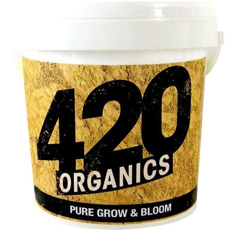 420 Organics - Pure Grow and Bloom 750g , engrais micro granulés croiisance et floraison en terre et coco