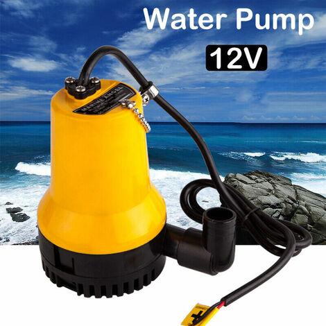 4200L / Pompe à eau DC12V DC 50W Submersible Propre Claire et sale l'étang Piscine Nettoyer Bassin