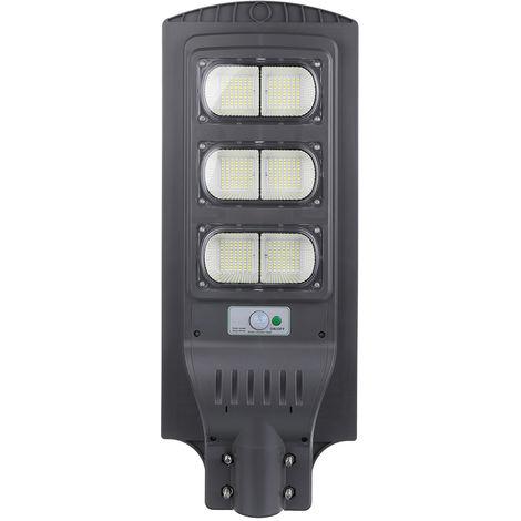 420LED 450W Réverbère lampe de jardin extérieur étanche à énergie solaire (Support non inclus)