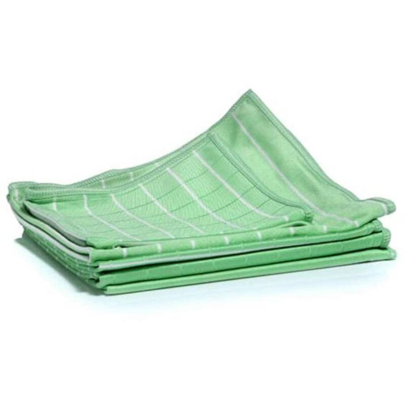 Image of Bamboo Dust Cloth Set 6 pcs Green - Green - Aqua Laser