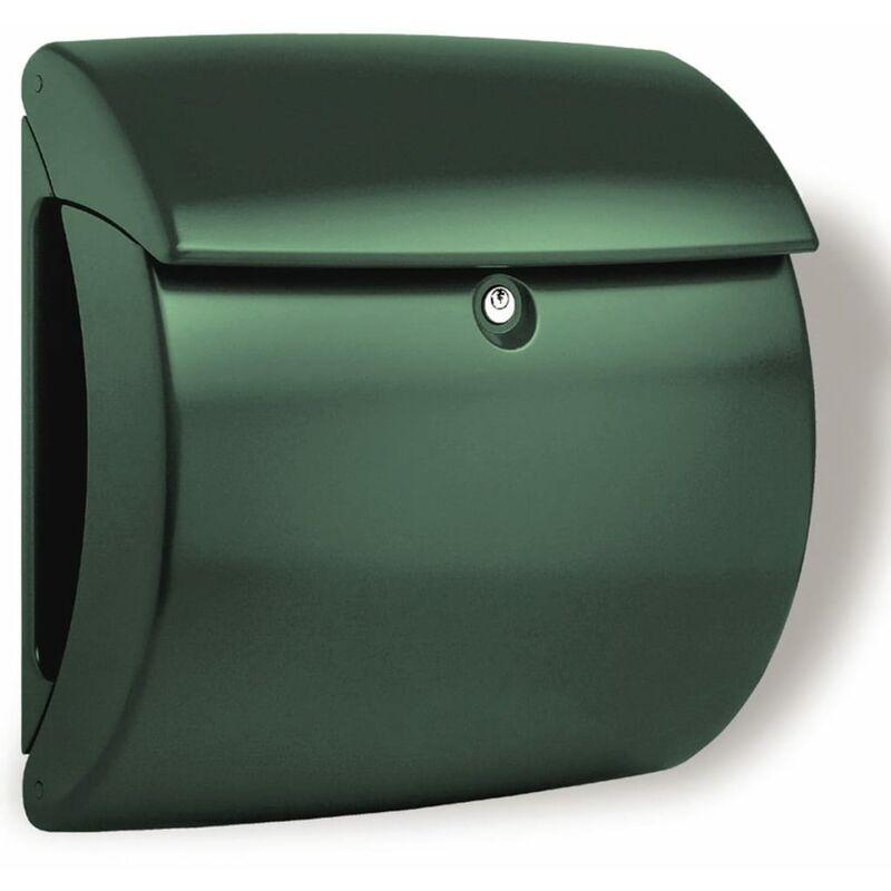 Image of Letterbox Kiel 886 GR Plastic Green - Burg-wächter