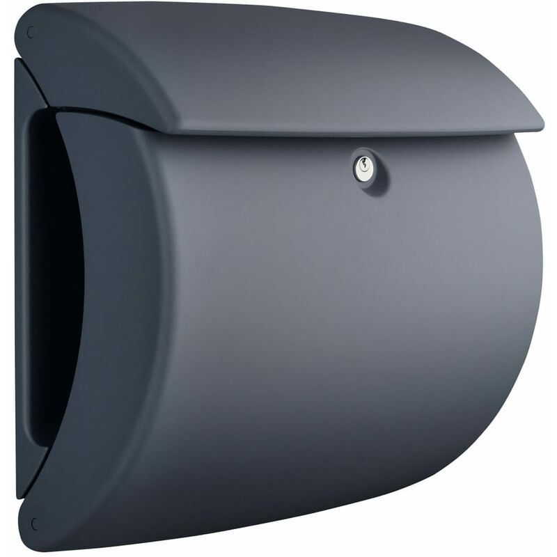 Image of Letterbox Pearl 886 GR Plastic Granite - Burg-wächter
