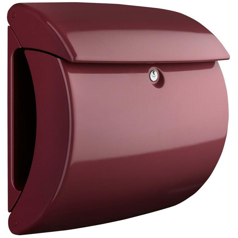 Image of Letterbox Piano 886 M Plastic Merlot - Burg-wächter