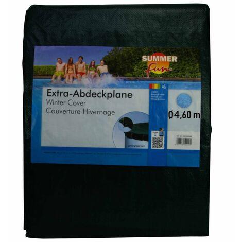 426467 Summer Fun Winter Pool Cover Round 460 cm PVC Green