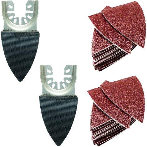 42pcs TopsTools Fast Fit Multitool Sanding Kit - FAKA42SKB