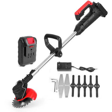 42V 1 Batterie Tondeuse électrique Sans Fil Coupe-Herbe Cutter Menagers Portable