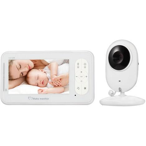 4,3 Pouces Sans Fil Video Baby Monitor 2 Way Parlez-Moniteur 4 Pour L'Appareil Photo Appareil Photo Mode Vox Surveillance De Temperature Ir Night Vision Camera Bebe Nanny Securite