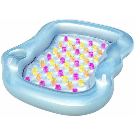 43045 Bestway Materassino gonfiabile matrimoniale 218x183x30 piscina mare