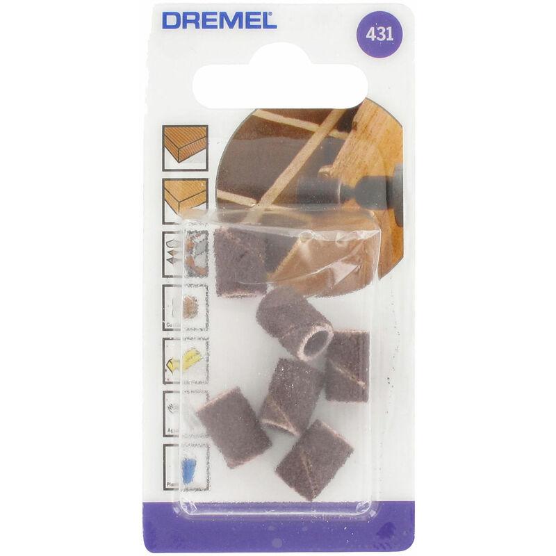 Image of 2615043132 431 6.4mm Coarse 60 Grit Sanding Band Multipack - Pack Of 6 - Dremel