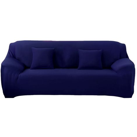 4353 Funda para sofá de 3 plazas tela elástica y color liso muy fácil de poner