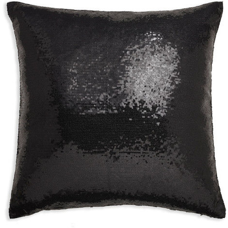 43x43cm Glitz Black Sequin Cushion 008333