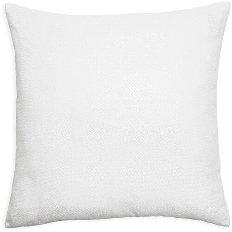 43x43cm Glitz Ice White Sequin Cushion 008335
