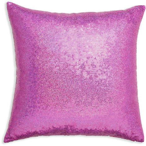 43x43cm Glitz Pink Sequin Cushion 008334