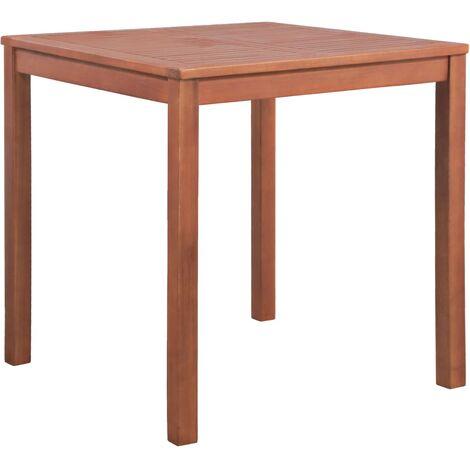 Garden Table 80x80x74 cm Solid Acacia Wood