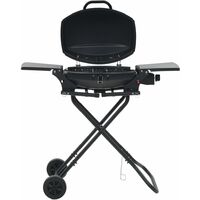44277 Portable Gas BBQ Grill with Cooking Zone Black (AT/DE/CH only)