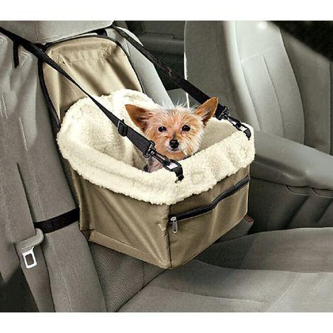4478 Transportín para automóviles con cinturones de seguridad y edredón interno