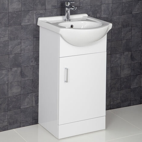 450mm Floorstanding Bathroom Vanity Unit Cabinet Only