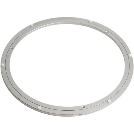 450x10mm Rolling Turntable Turntable Turntable Aluminum Table Holder Kitchen Cake